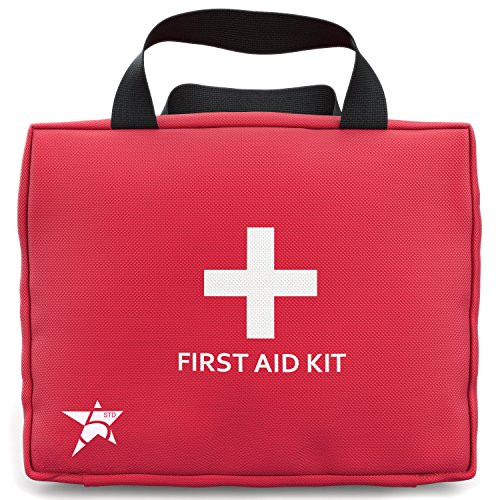 5 Star Complete 102 piece Travel First Aid Kit