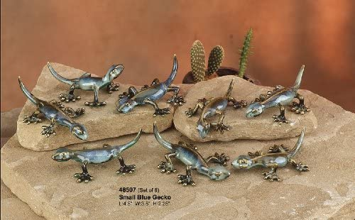 Golden Pond Collection Gecko in Shades of Blue and Aqua from The