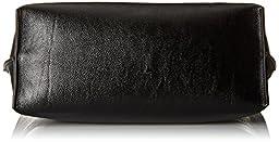 Calvin Klein Reversible-N/S Novelty Tote Bag, Black/White Snake, One Size