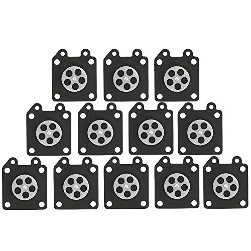 (Kizut 12 Pcs 95-526 95-526-8 Metering Diaphragm Gasket Assembly for Walbro WY WZ WT WA Series Carburetor Parts)
