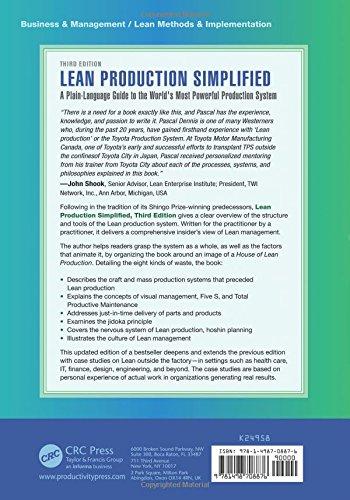 Lean Production Simplified, Third Edition: Amazon.de: Pascal Dennis ...