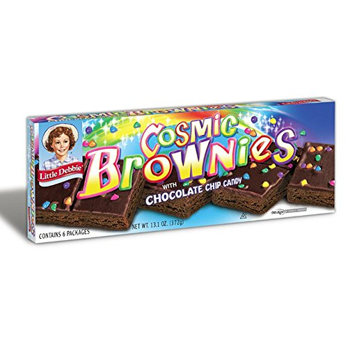 Brownies /Dark Fudge with Candy Coated Chocolate Chips 13.1 oz Box (Dark Chocolate Fudge Box)