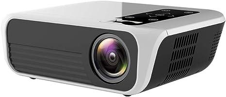 JIAX 1080P HD Lleno del proyector, Android TV Caja DE 2G + 16G 3D HD LED proyector de Cine en casa Multimedia USB VGA HDMI TV Mini Proyector Home Media Player: Amazon.es: