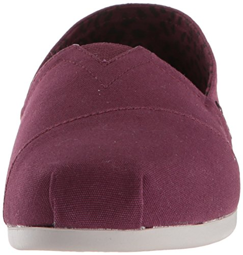 Skechers BOBS from Women's Plush-Peace and Love Ballet Flat, Burgundy, 8.5 M US by Skechers (Image #4)