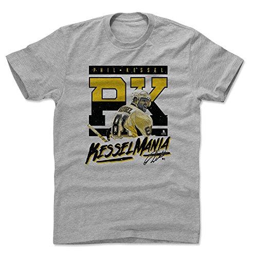 500 LEVEL Phil Kessel Cotton Shirt X-Large Heather Gray - Pittsburgh Hockey Men's Apparel - Phil Kessel Kesselmania K
