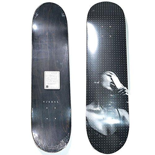 伝染性の司書イタリック(ビジュアル) V/SUAL スケートボード スケボー デッキ Blade Deck 黒 ブラック
