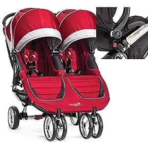 Amazon.com : Baby Jogger 1959385 City Mini Double Stroller ...