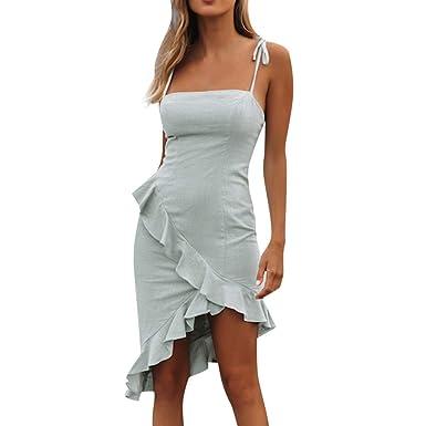 Btruely Vestido Mujer Elegante Ajustado Vestido de Fiesta ...