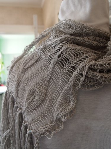 Long Leaves Hand Knitting Scarf Pattern Kindle Edition By Grace