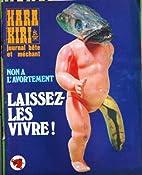 HARA KIRI [No 142] du 01/07/1973 - NON A…