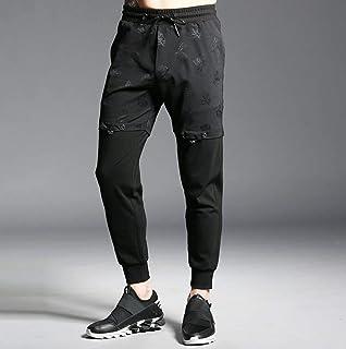 INSTO Pantaloni Pantaloni Sportivi Giunti Pantaloni Stampati Pantaloni per Uomo