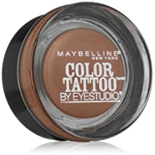 Maybelline 24 Hour Eyeshadow, Tough as Taupe, 0.14 Ounce
