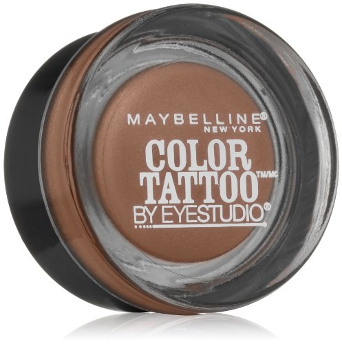 Maybelline New York Eyestudio ColorTattoo Metal 24HR Cream Gel Eyeshadow, Tough as Taupe, 0.14 oz.