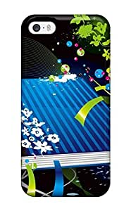Barbauller Premium Protective Hard Case For Iphone 5/5s- Nice Design - Colorful Vector Book