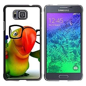 - HIPSTER 3D PARROT ANIMATION COLORFUL GLASSES - - Monedero pared Design Premium cuero del tir???¡¯???€????€?????n magn???&r