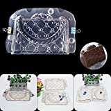 OYJJ 3D Stereo Tote Chocolate Mold Plastic Cake Biscuits DIY Mold Kitchen Tools