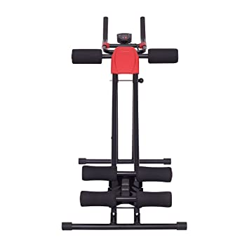 199a7a91cc5f7 Amazon.com   COSTWAY Ab Power Fitness Abdominal Trainer by SpiritOne + Gift  Coconut Shell Massage Ball   Sports   Outdoors