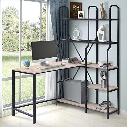 Cheap LYNSLIM L Shaped Computer Desk modern office desk for sale