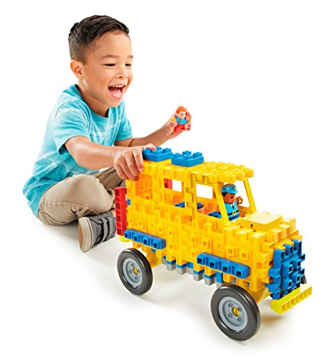 - Little Tikes Waffle Blocks Vehicle School Bus