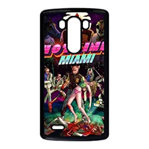 LG G3 Cell Phone Case Black Hotline Miami 2 Wrong Number 22 U7E1NW