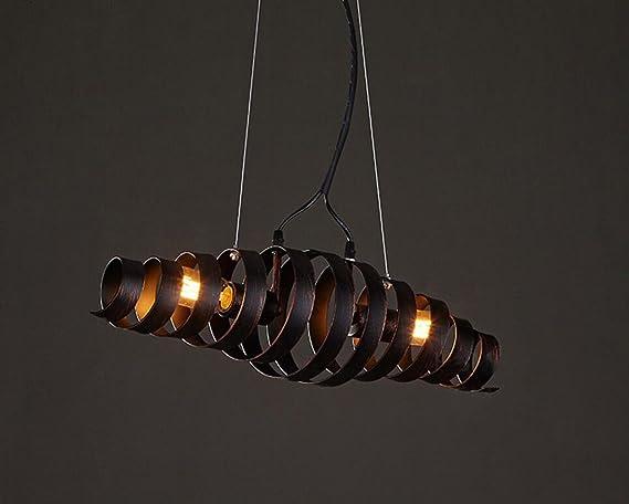 Lampadario a bracci in ferro a sospensione bar lampada a sbalzo in