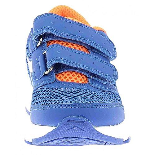 Diadora 101.171269, Zapatillas con Velcro Infantil turquesa