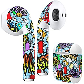 Amazon.com: Airpods Skin + Case Skin Sticker Skin Decal