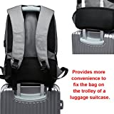 Business Slim Laptop Backpack Anti Theft Travel