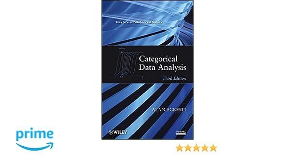 Categorical data analysis alan agresti 9780470463635 statistics categorical data analysis alan agresti 9780470463635 statistics amazon canada fandeluxe Image collections