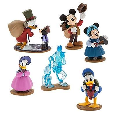 Disney Mickey's Christmas Carol Figure Play Set No Color
