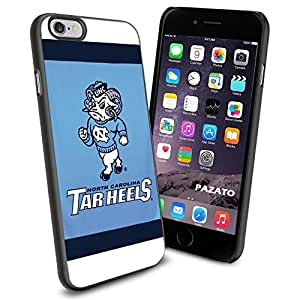 NCAA NC University of North Carolina Tar Heels #12 Cool iPhone 6 Smartphone Case Cover Collector iphone TPU Rubber Case Black