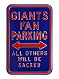 Authentic Street Signs 35124 Giants & Sacked New York Giants Street Sign