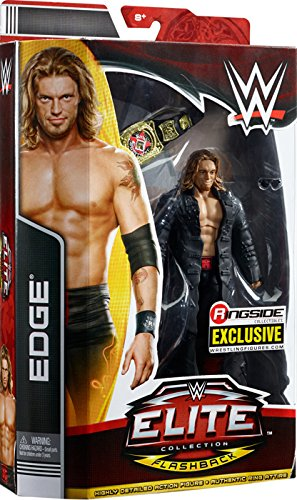 RATED R EDGE - RINGSIDE COLLECTIBLES ELITE FLASHBACK EXCLUSIVE MATTEL TOY WRESTLING ACTION FIGURE by Wrestling