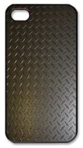 Abstract pattern iPhone 4 4s Case PC Black Case for iPhone 4 4s