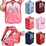 ShoppoStreet Waterproof Travelling Shoe Storage Bag/Footwear Organiser Pouch/Portable Shoes Storage Bag (Multi Color)