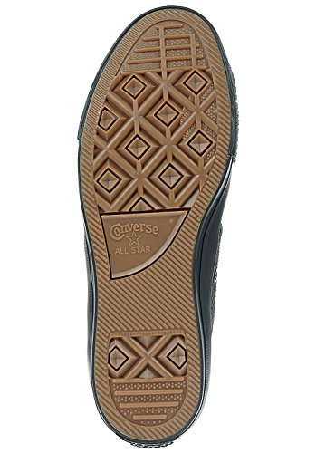 Converse Uomo Baskets Ctas Ox Lux Leather Taglia 41 Nero