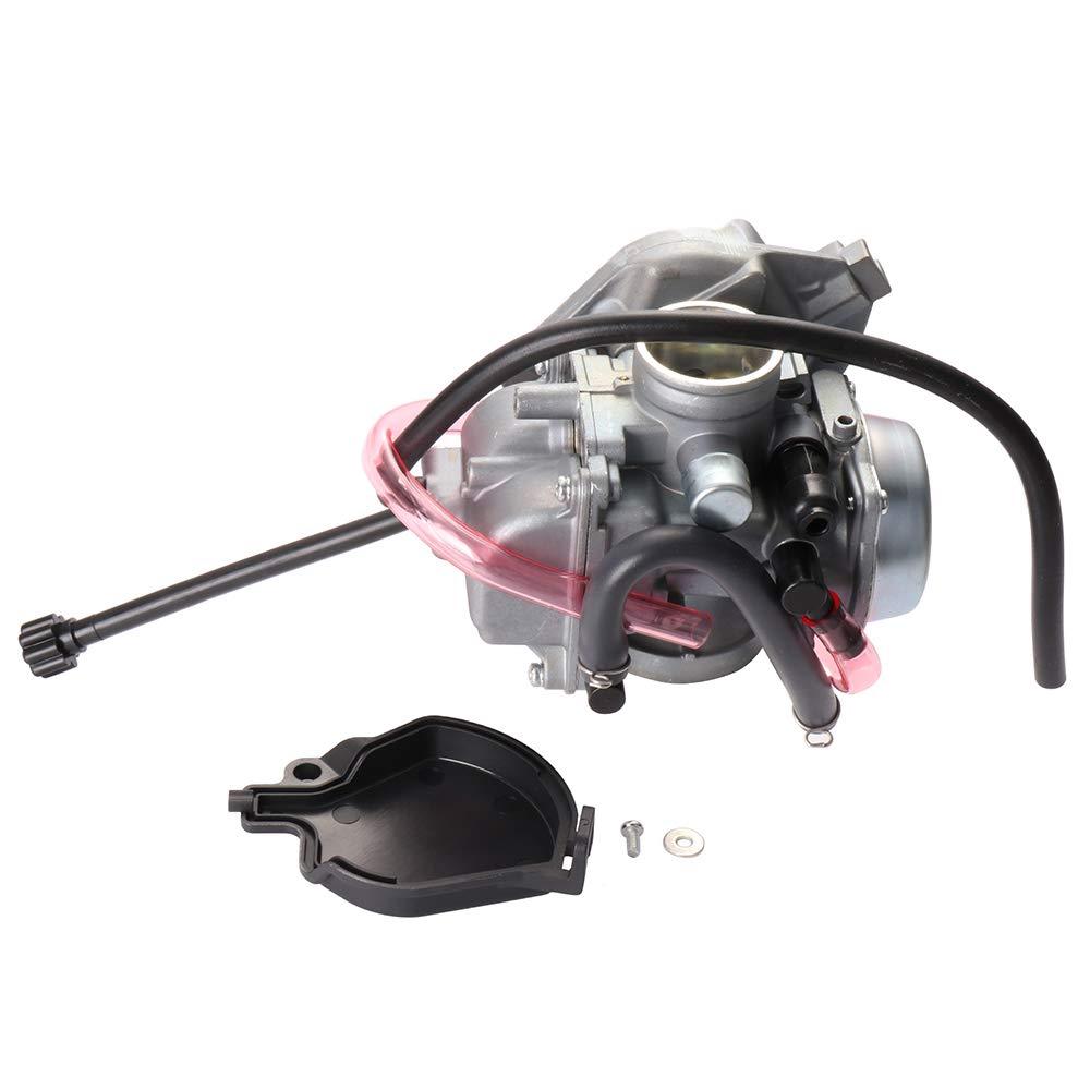 SCITOO 0470-448 Carburetor Fit 1995 1996 1997 1998 1999 2000 2001 2002 2003 Kawasaki KEF300 Lakota 117702-5206-1451514811