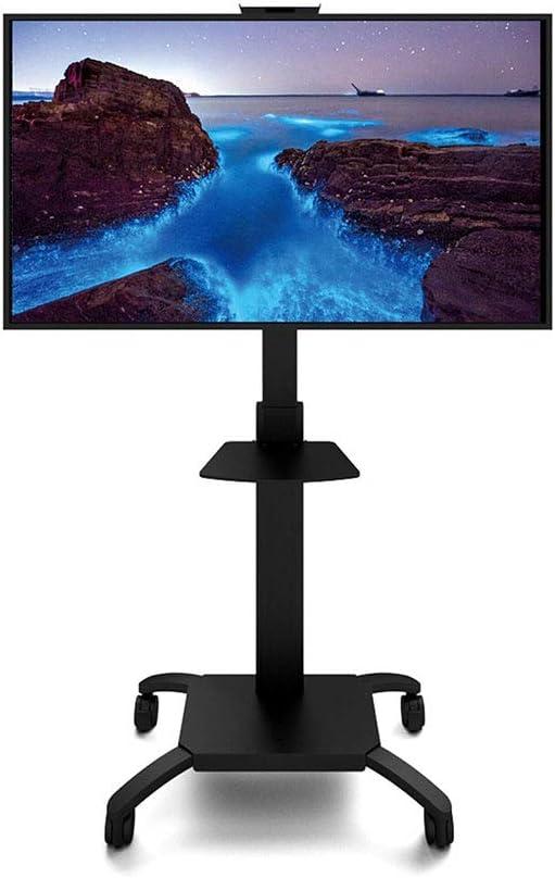 Exing Mueble TV Stand Carro, 32-60 Pulgadas LED LCD Flat Panel Plasma TV Portátil Piso Stand TV Rack Landing Mobile Cart: Amazon.es: Hogar