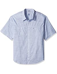 Men's Big and Tall Saltwater Dockside Chambray Solid
