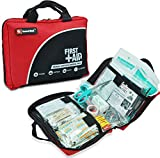 160 Piece Professional First Aid Kit for Medical Emergency - Includes Emergency Blanket, Bandage, Scissors for Home, Car, Camping, Office, Boat, and Traveling