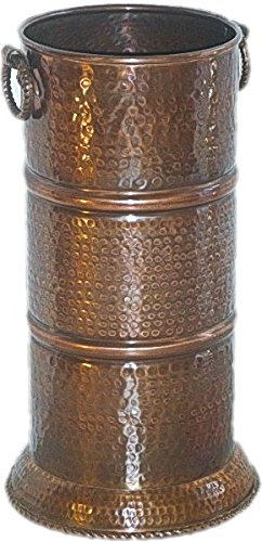 Copper Umbrella Stand Hammered by Excellent Accents