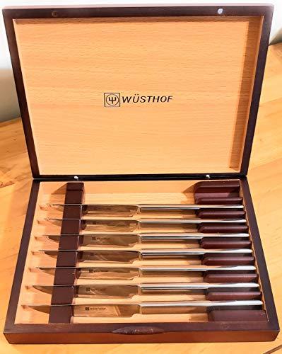 Wusthof 8 pc Stainless Steel Steak Knife Set w/Presentation Box 9468