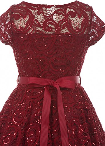 BNY-Corner-Cap-Sleeve-Floral-Lace-Glitter-Pearl-Holiday-Party-Flower-Girl-Dress