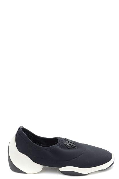 92d9f65e9 Giuseppe Zanotti Design Women s MCBI36933 Black Polyamide Slip On Sneakers   Amazon.co.uk  Shoes   Bags