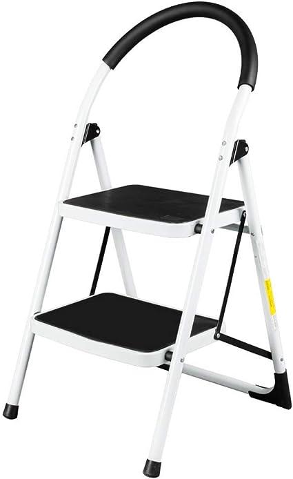 RMXMY Hogar Portátil plegable Escalera pequeña Escalera Silla Silla de doble uso Banco de engrosamiento Interior multifunción Escalera plegable industrial ligera: Amazon.es: Coche y moto