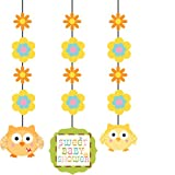 3-Piece Hanging Decorations, Happi Tree Sweet Baby