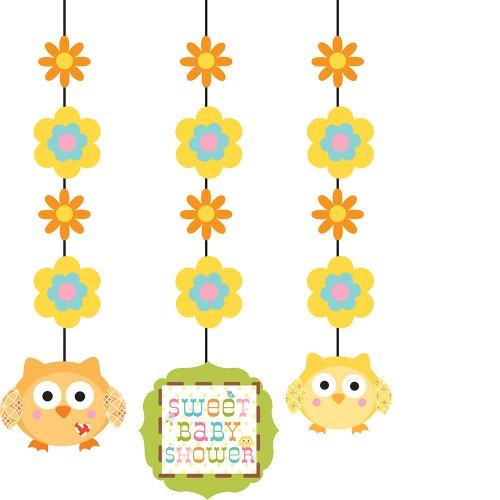 Creative Converting Happi Hanging Decorations