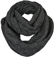 Men's Infinity Scarf Knit Soft Warm Thick Neck Gaiter Winter Sca