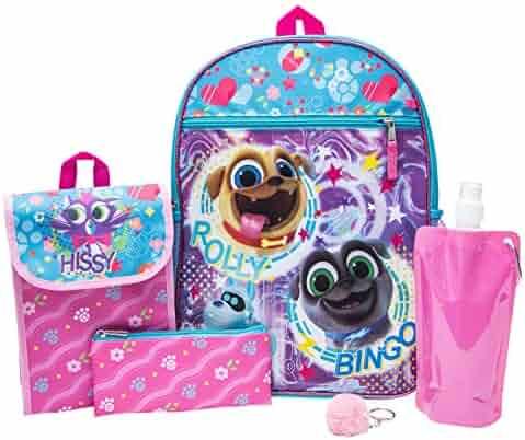 8db02cc3464 PuppyDog Pals Backpack Combo Set - Disney Puppy Dog Pals Girls  6 Piece  Backpack Set