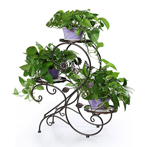 - HLC 3-tier Classic Plant Stand with Modern